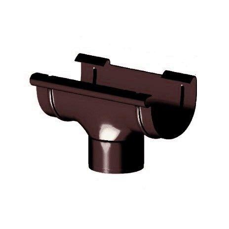 Лійка 125/90 мм, Gamrat 125, коричневий, RAL 8019