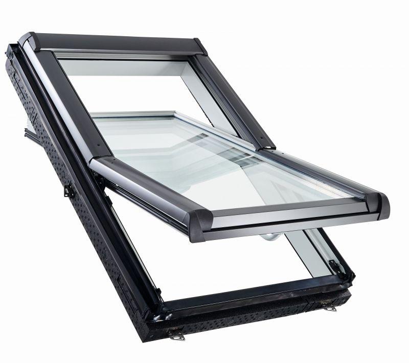 Мансардне вікно ROTO R45 К, з WD, однокамерний склопакет