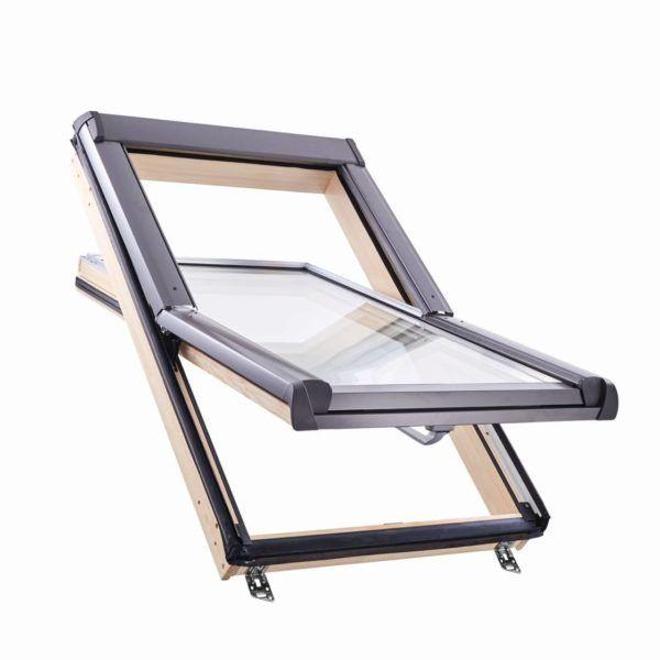 Мансардне вікно ROTO R45 Н, без WD, однокамерний склопакет