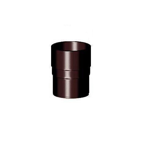 Муфта труби 90 мм, Gamrat, коричневий, RAL 8019